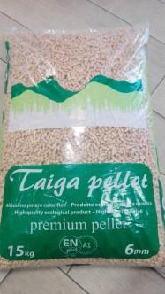 Pellet Taiga Premium 15kg