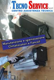 Igienizzazione Climatizzatori e Fancoil